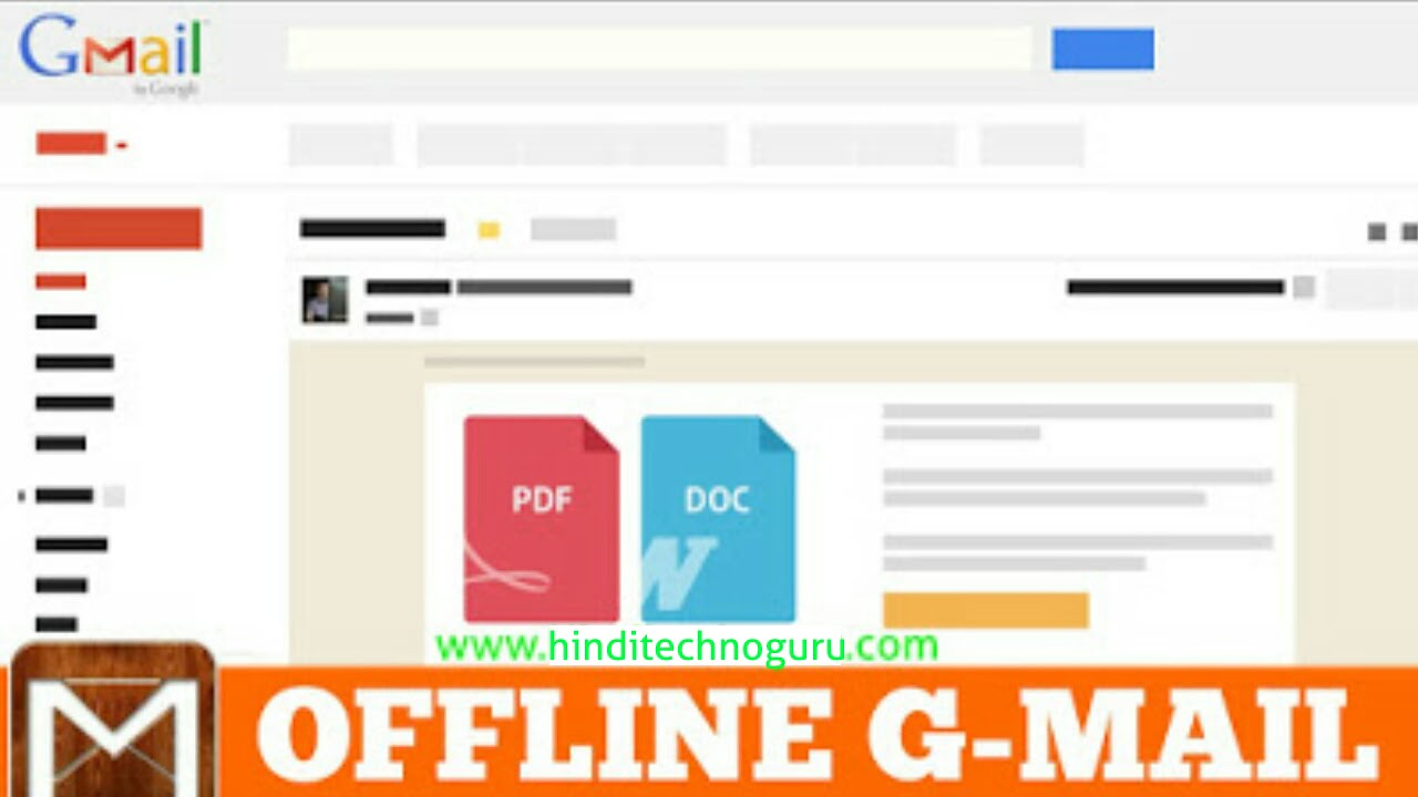 How to use gmail offline in hindi