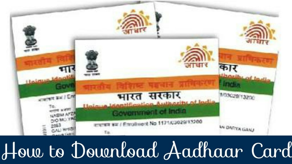 How to download aadhaar card at home online simple way to get in hindi