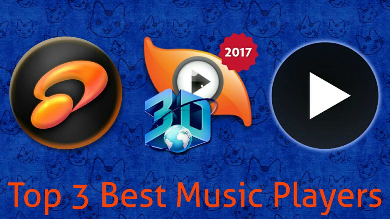 Top 3 Best music player apps