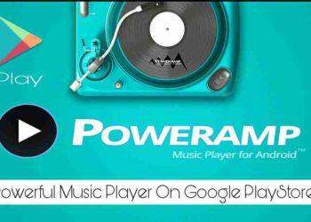 Poweramp music player best music player on Google PlayStore