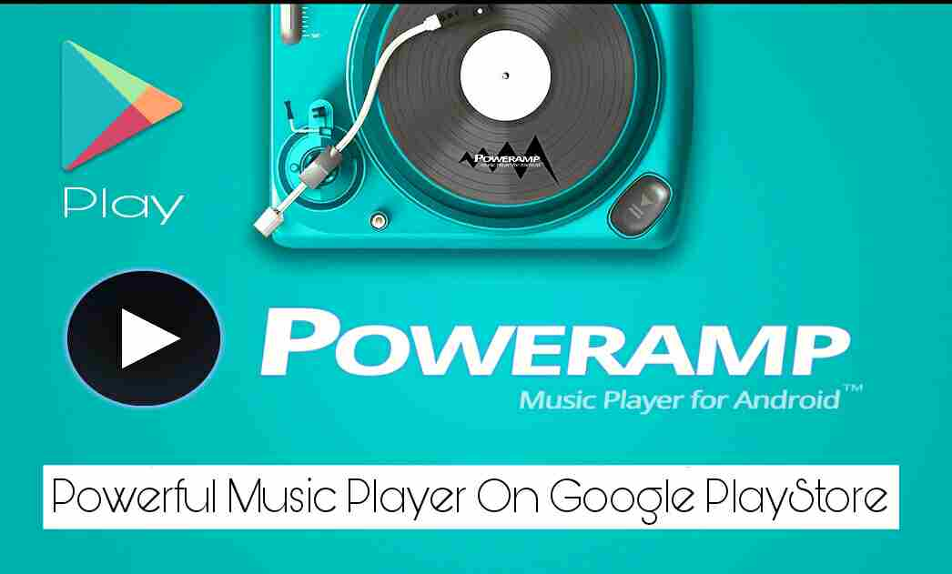Poweramp music player best music player on Google PlayStore