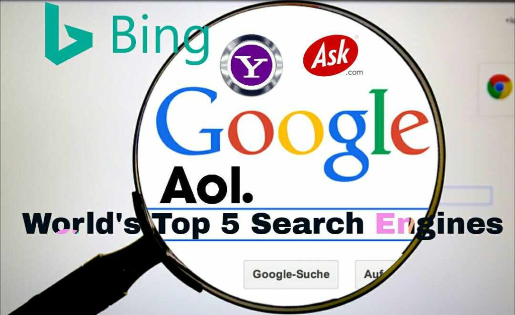 Search engines kya hai top 5 Search Engine