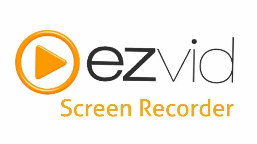 Ezvid screen recorder tool software