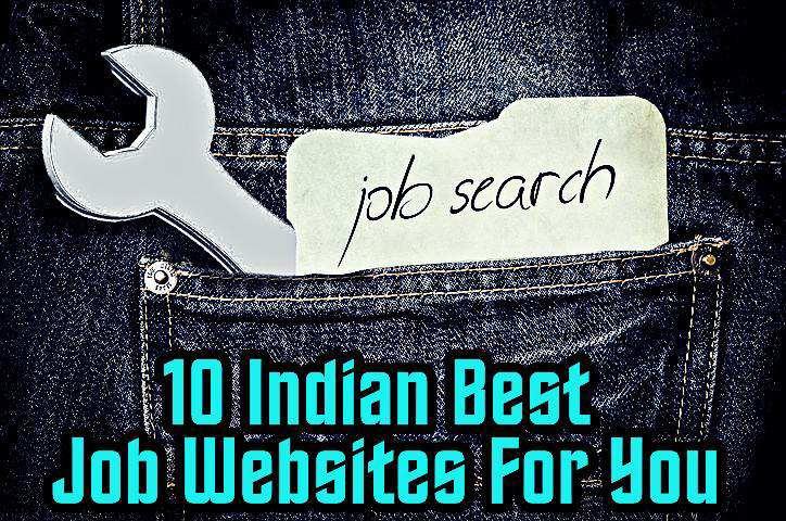 Top 10 Best Indian Job Websites List