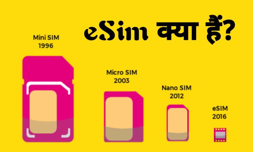 eSim Kya Hai? ये कैसे काम करता हैं और इसका इसिहास क्या हैं?