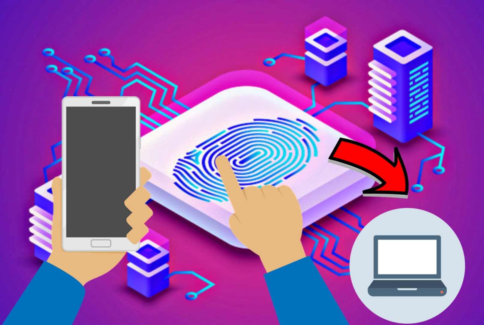 Phone Ke FingerPrint Se Laptop/Desktop Unlock Kaise Kare
